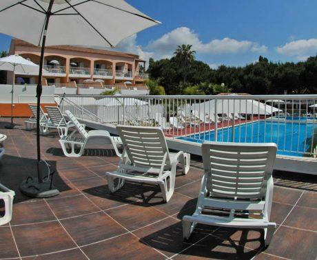 location T3 avec piscine La Londe Les Maures